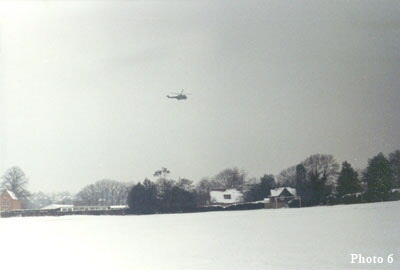 Helicopter off the Hilltop Sites