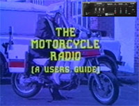Thames Valley Police Motorcycle Radio Guide