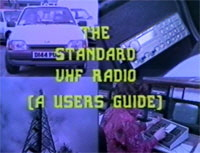 Thames Valley Police Standard VHF Radio Guide