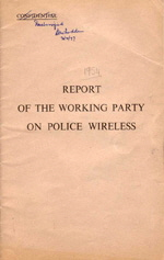 Working Party Report Front Cover