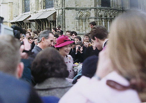 Queen's Visit to Canterbury